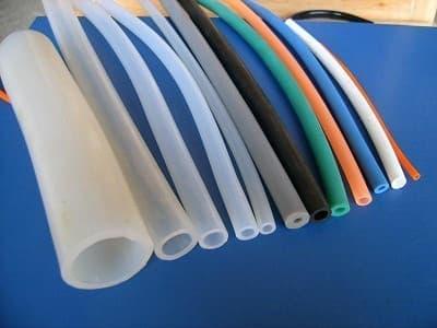 硅橡膠純膠膠管