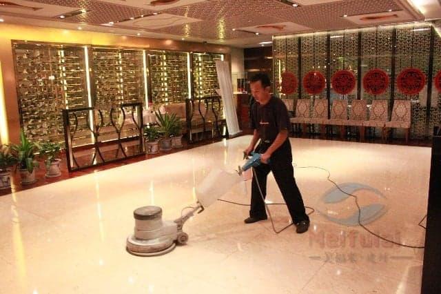 绵阳PVC地板清洗与打蜡